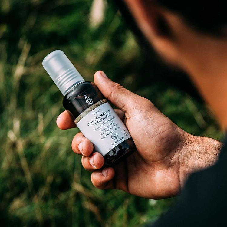 EQ Rozgrzewający olejek do masażu