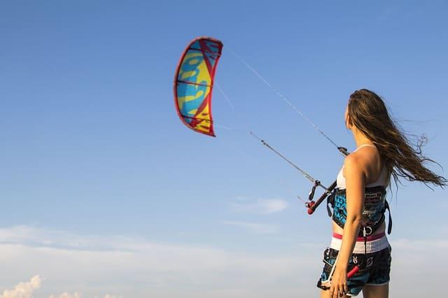 Sztyft przeciwsłoneczny Kitesurfing