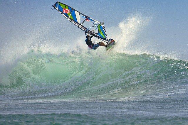 Sztyft przeciwsłoneczny windsurfing