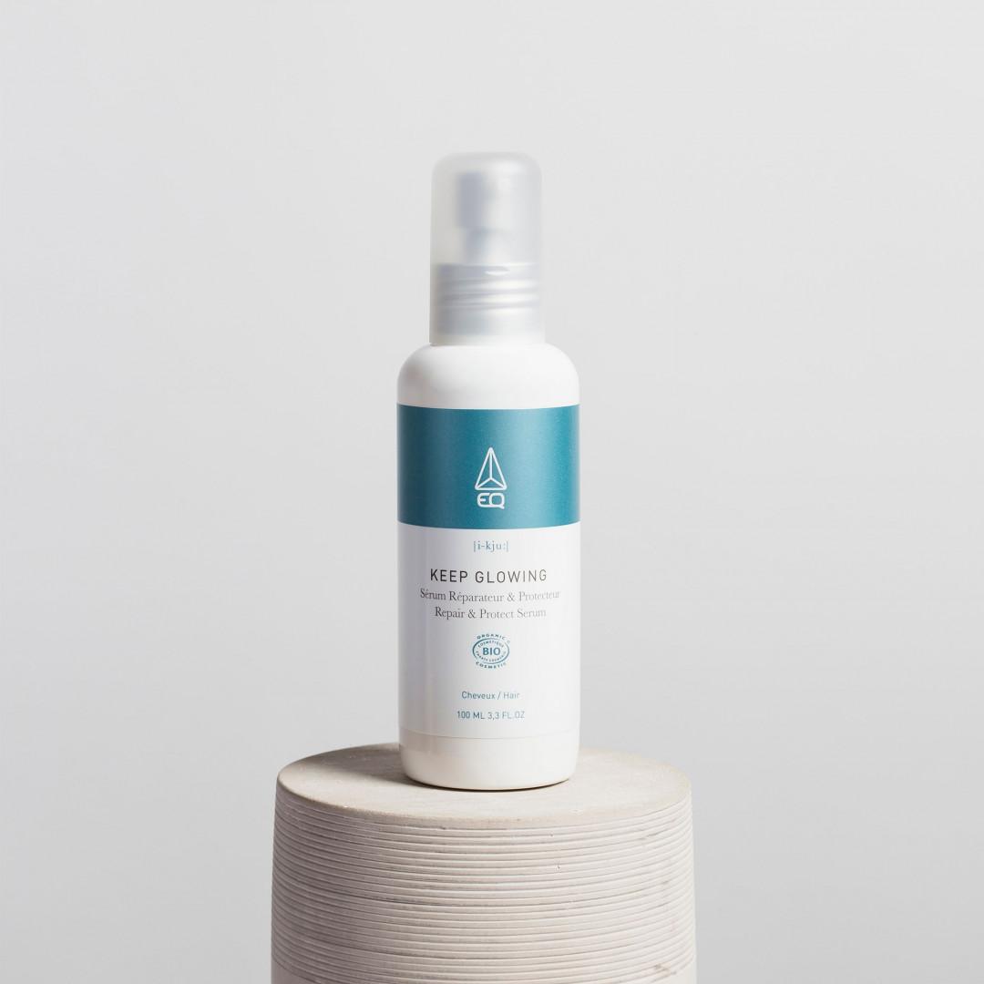 Naturalne serum do włosów keep glowing