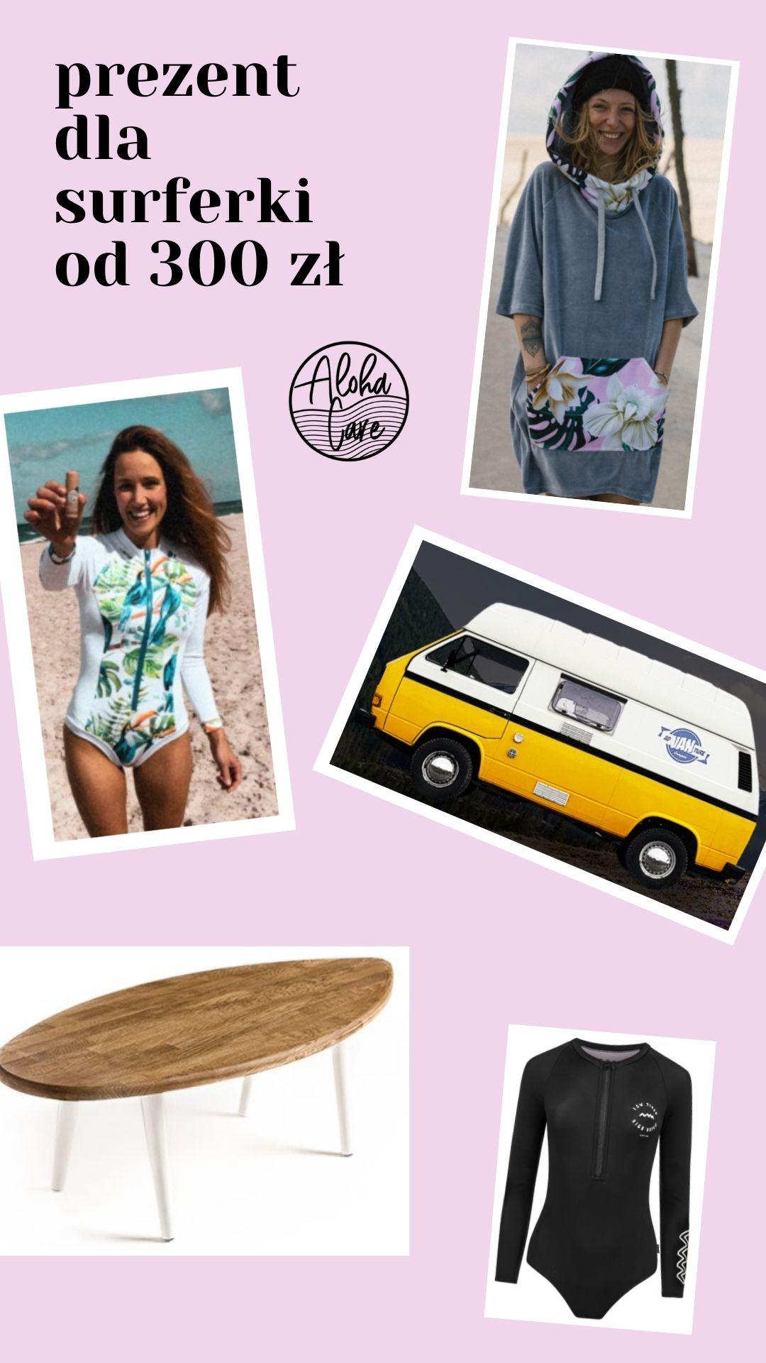 Prezent dla surferki prezent dla kitesurferki aloha care